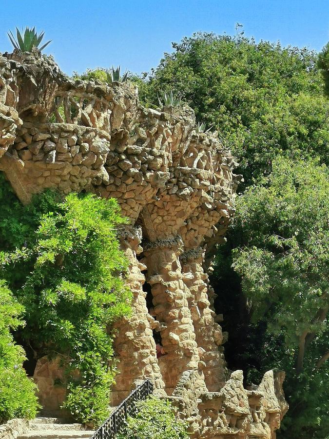 Twisting Rock Pillars by Art Spectrum