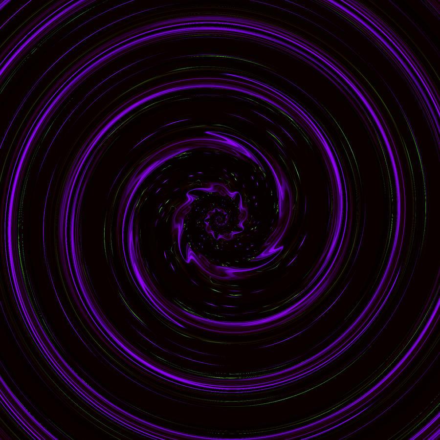 Twisty Bendy Spiral by Rachel Hannah