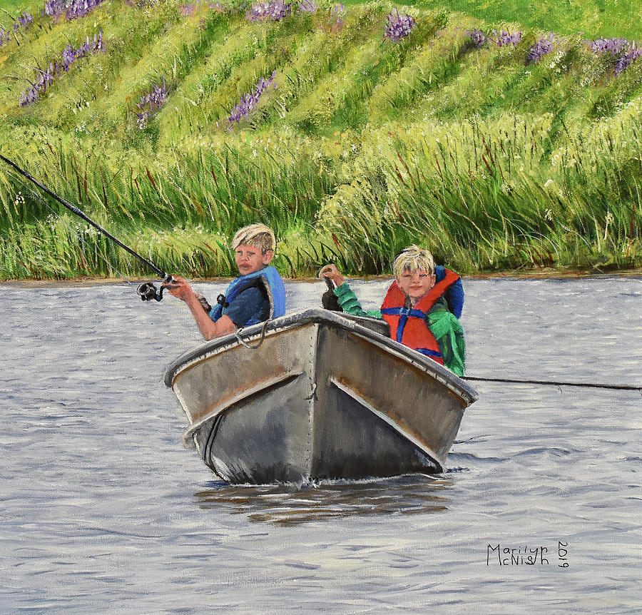 Two Boys and a Boat by Marilyn McNish