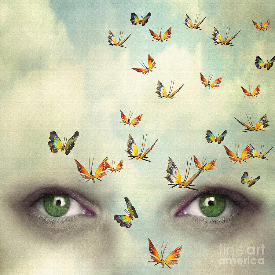 Beauty Photograph - Two Eyes With The Sky And So Many by Valentina Photos