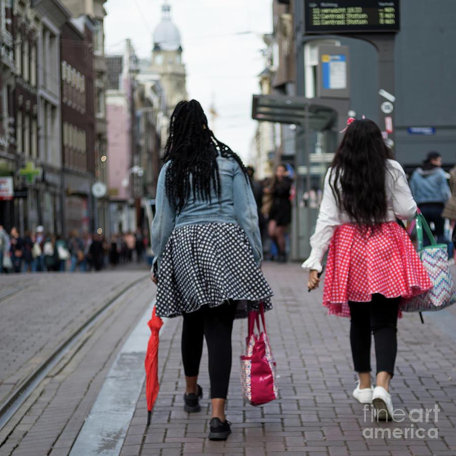 Two Girls in Amstercfam by Jan Daniels