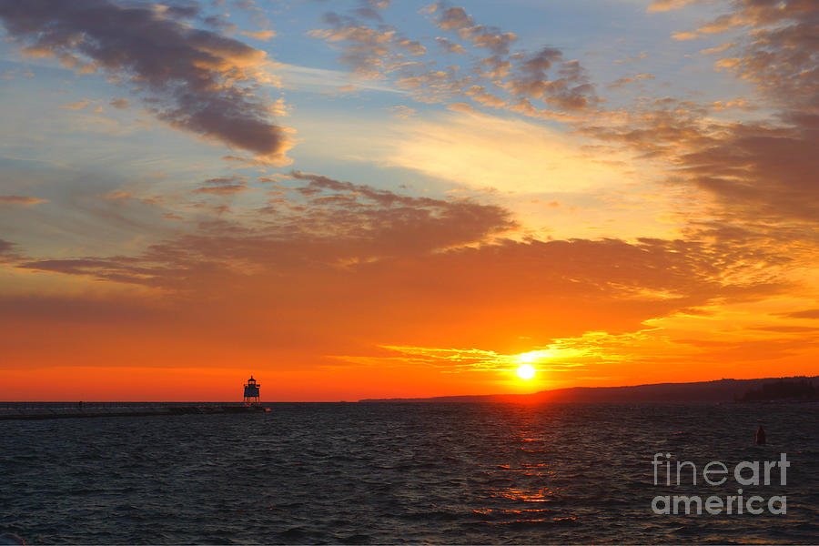 Two Harbors Sunset 3 by Kyle Neugebauer