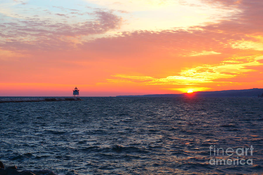Two Harbors Sunset 5 by Kyle Neugebauer