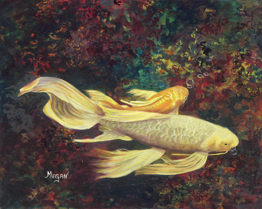Two Koi by Megan Collins