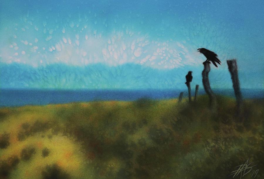 Two Ravens by Robin Street-Morris