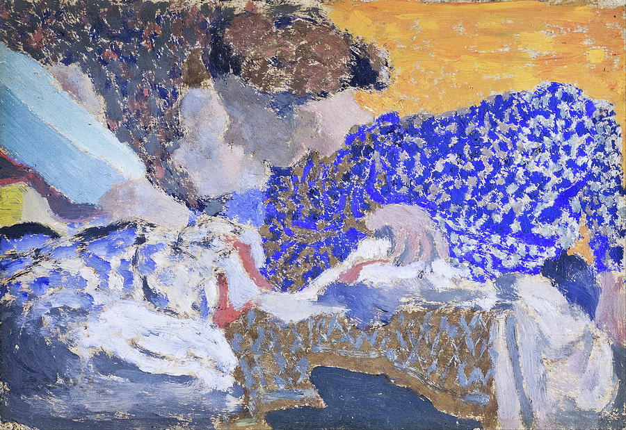 Edouard Vuillard Painting - Two Seamstresses In The Workroom - Digital Remastered Edition by Edouard Vuillard
