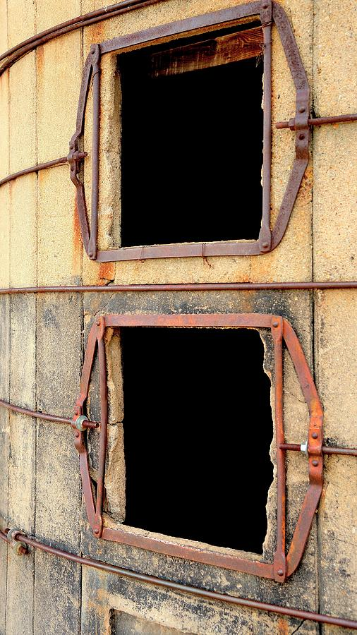 Two Silo Portals by Jerry Sodorff