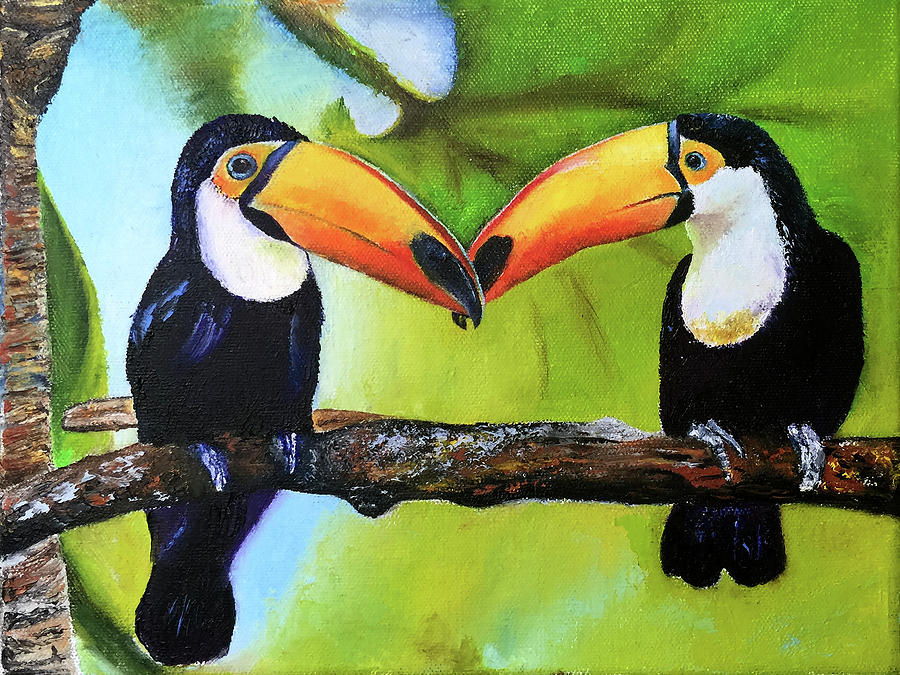 Two Toucans for Ezme by Terry R MacDonald