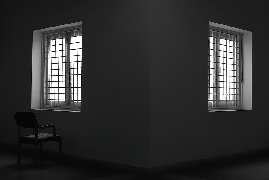 Two Windows One Chair by Prakash Ghai