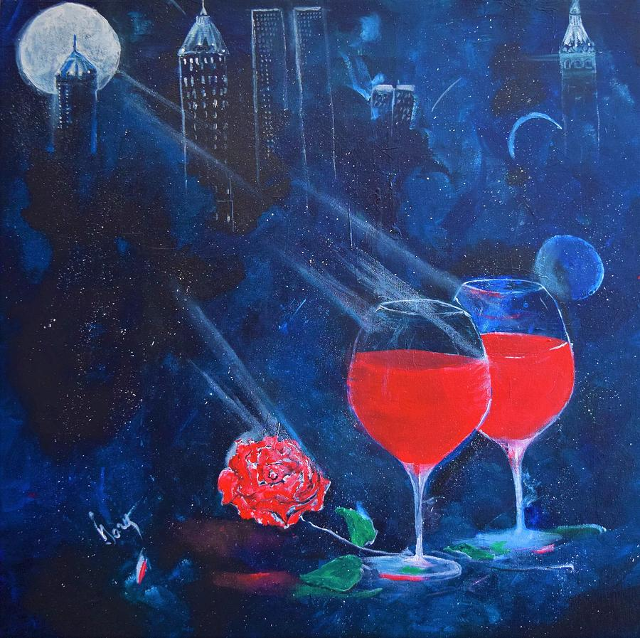 Two Wines and a Rose by Gary Smith