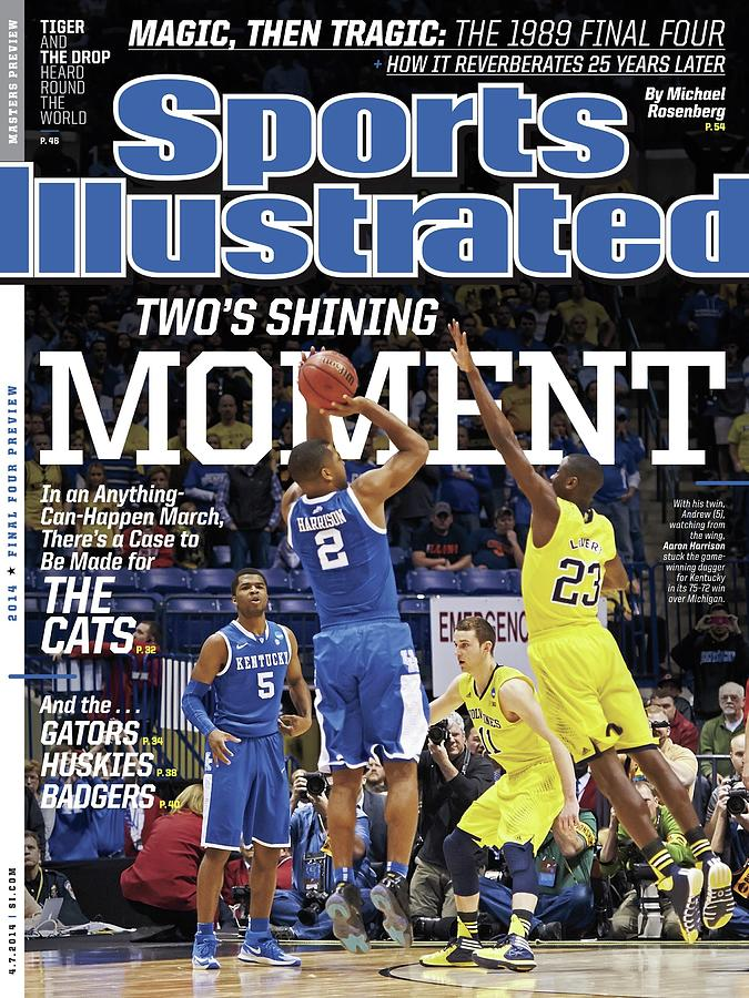 Twos Shining Moment In An Anything-can-happen March, Theres Sports Illustrated Cover Photograph by Sports Illustrated
