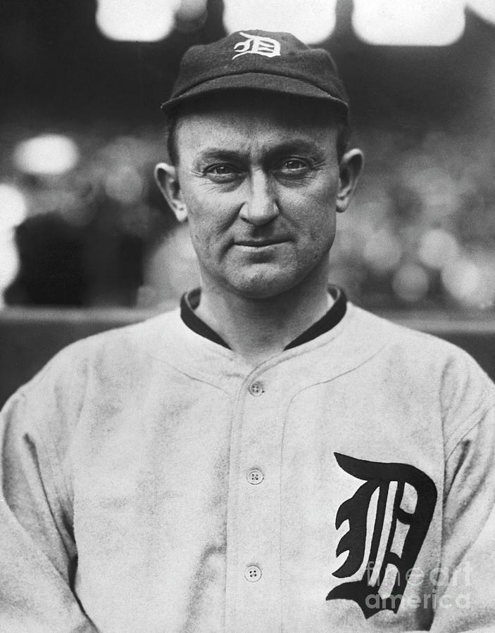 Ty Cobb Wearing Detroit Tigers Uniform Photograph by Bettmann