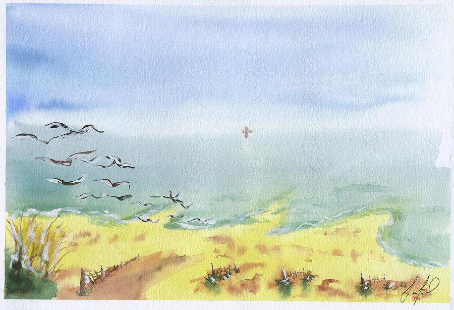 Tybee Painting - Tybee1 by Stephen Lanford