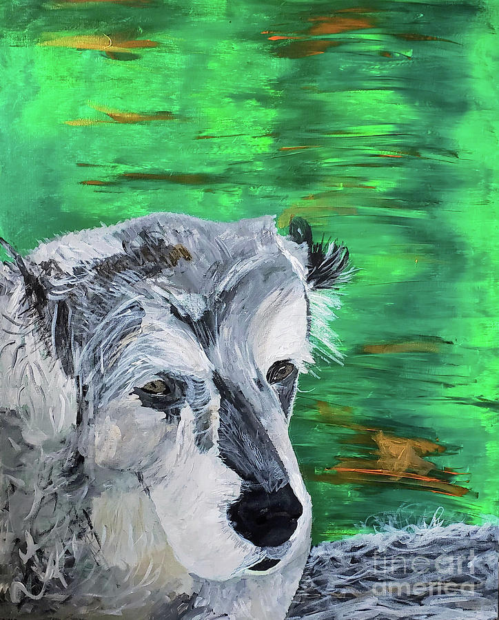Dog Painting - Tylers tribute by Escudra Art
