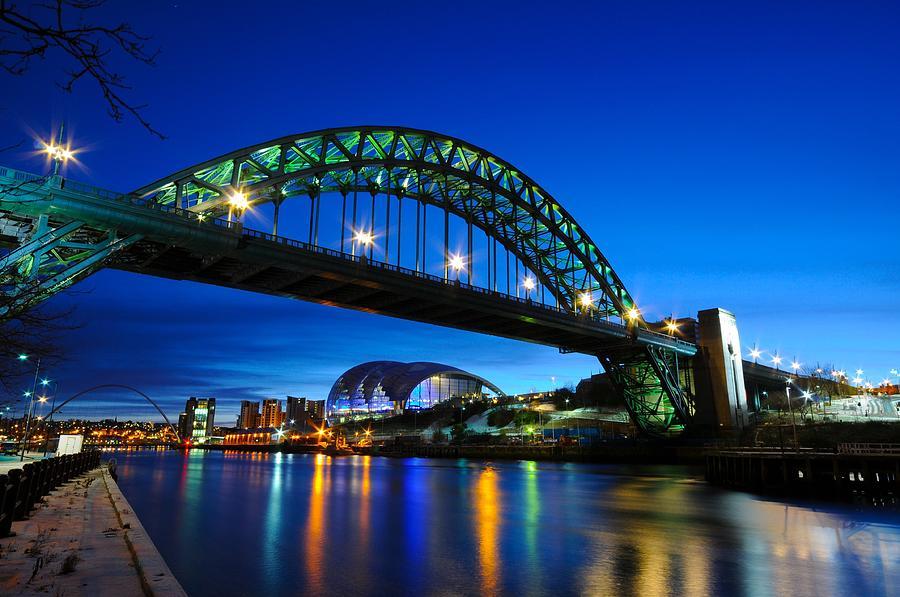 Tyne Bridge - Newcastle Upon Tyne Photograph by Sergio Amiti
