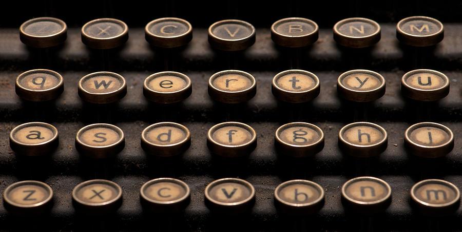 Typewriter Keys by Matt Hammerstein