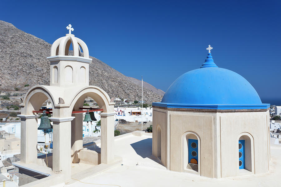 Typical Greek Church Photograph by Michaelutech