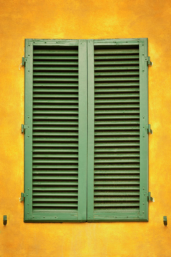 Typical Italian Window In Siena Photograph by Caracterdesign