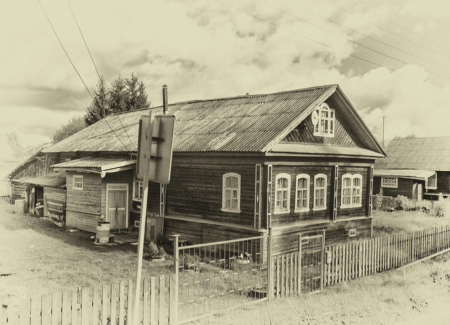 Typical Northern Russian Home by Photos By Pharos
