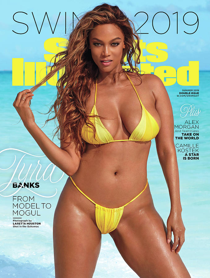 Tyra Banks Swimsuit 2019 Sports Illustrated Cover Photograph by Sports Illustrated