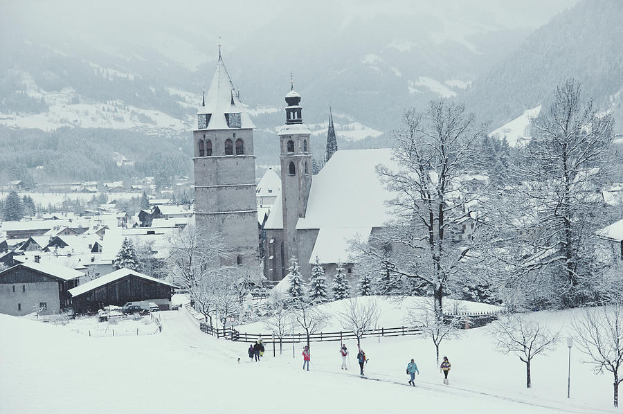 Tyrolean Churches Photograph by Slim Aarons