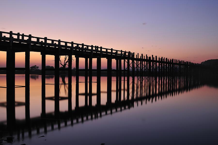 U-beins Bridge Photograph by Huang Xin