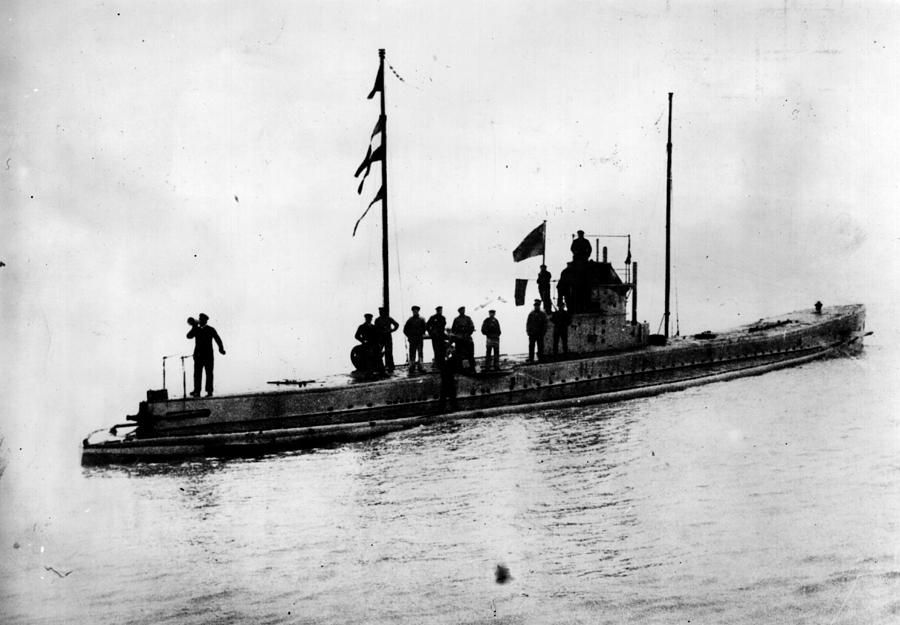 U-boat Photograph by Topical Press Agency