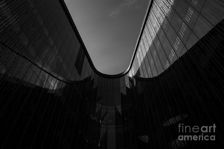 Architecture Photograph - U-turn II by Tapio Koivula