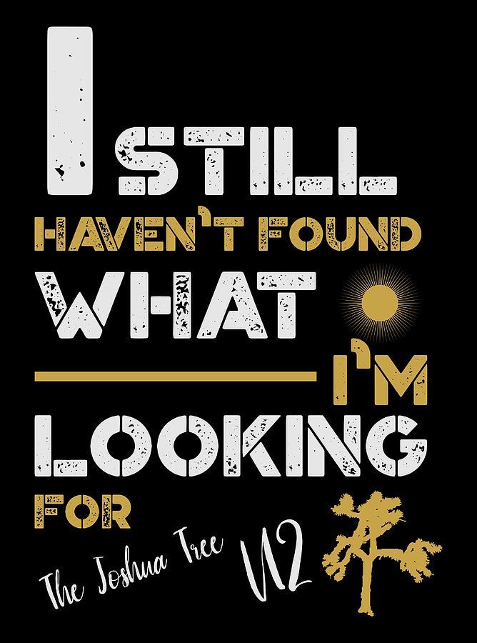 U2 Ishfwilf Black Digital Art by Herroll Valdivia