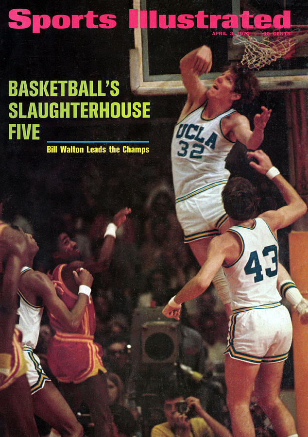 Ucla Bill Walton, 1972 Ncaa National Championship Sports Illustrated Cover Photograph by Sports Illustrated