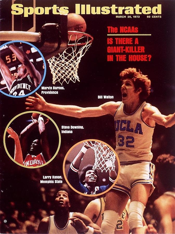 Ucla Bill Walton, 1973 Ncaa West Regional Playoffs Sports Illustrated Cover Photograph by Sports Illustrated
