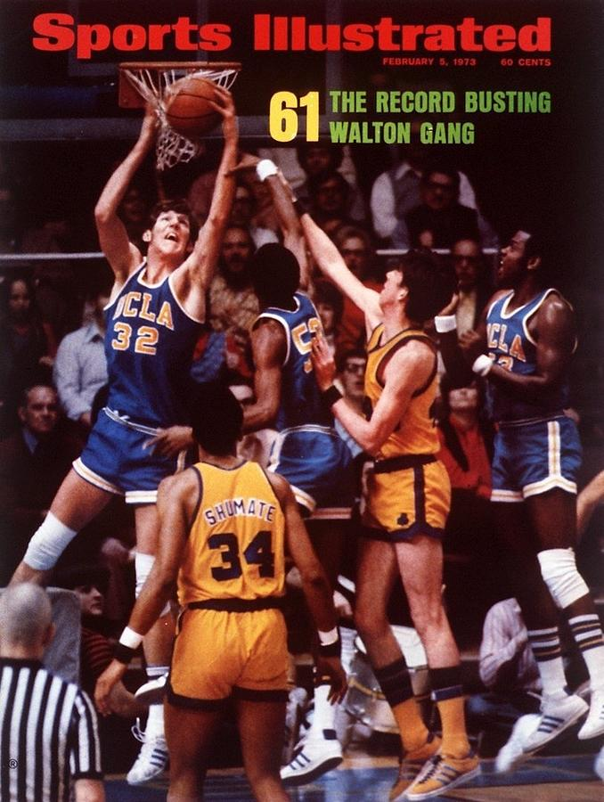 Ucla Bill Walton... Sports Illustrated Cover Photograph by Sports Illustrated