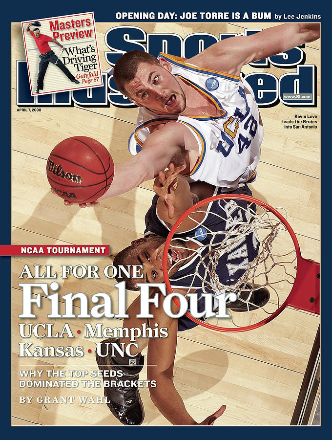 Ucla Kevin Love, 2008 Ncaa West Regional Finals Sports Illustrated Cover Photograph by Sports Illustrated