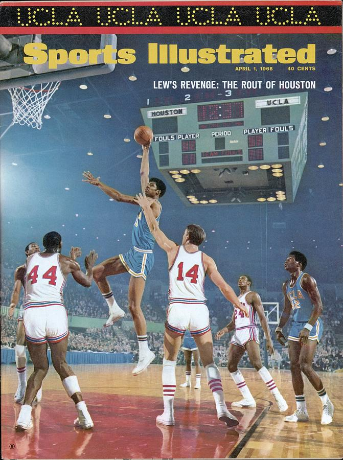 Ucla Lew Alcindor, 1968 Ncaa Semifinals Sports Illustrated Cover Photograph by Sports Illustrated