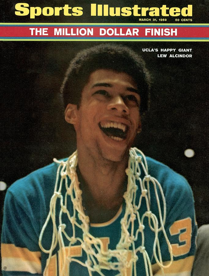 Ucla Lew Alcindor, 1969 Ncaa National Championship Sports Illustrated Cover Photograph by Sports Illustrated