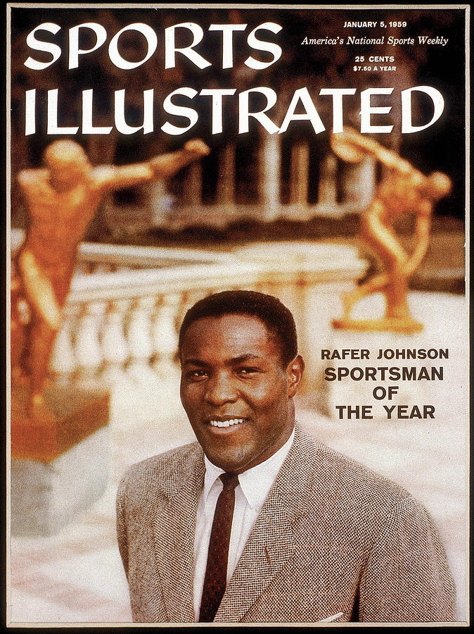 Ucla Rafer Johnson, 1958 Sportsman Of The Year Sports Illustrated Cover Photograph by Sports Illustrated