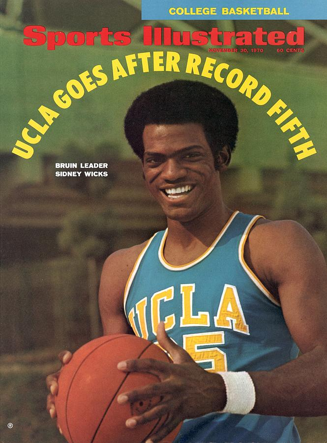 Ucla Sidney Wicks Sports Illustrated Cover Photograph by Sports Illustrated