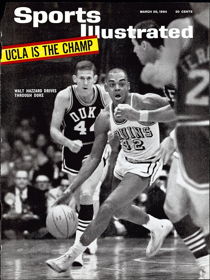 Ucla Walt Hazzard, 1964 Ncaa National Championship Sports Illustrated Cover Photograph by Sports Illustrated