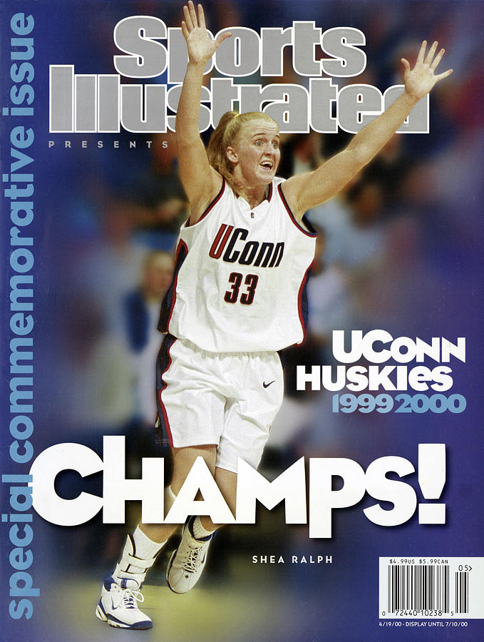 Uconn Huskies 1999 - 2000 Ncaa Champs Sports Illustrated Cover Photograph by Sports Illustrated