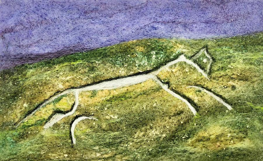 Uffington White Horse by Ushma Sargeant