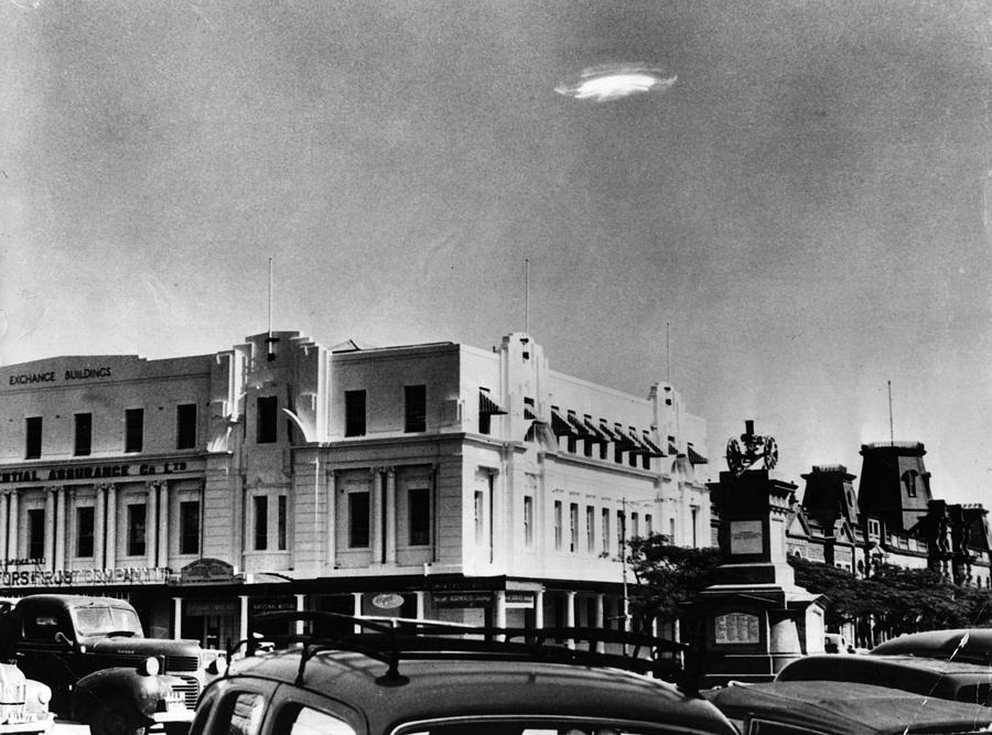 Ufo Sighting Photograph by Barney Wayne
