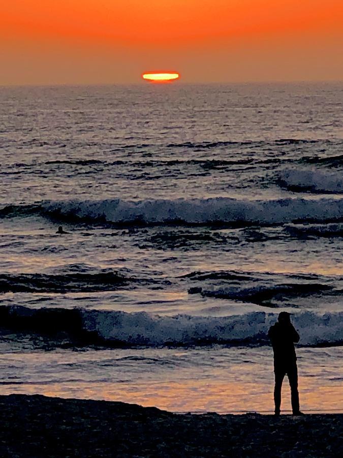 Sunset Photograph - Ufo Sunset  by Michael Klahr
