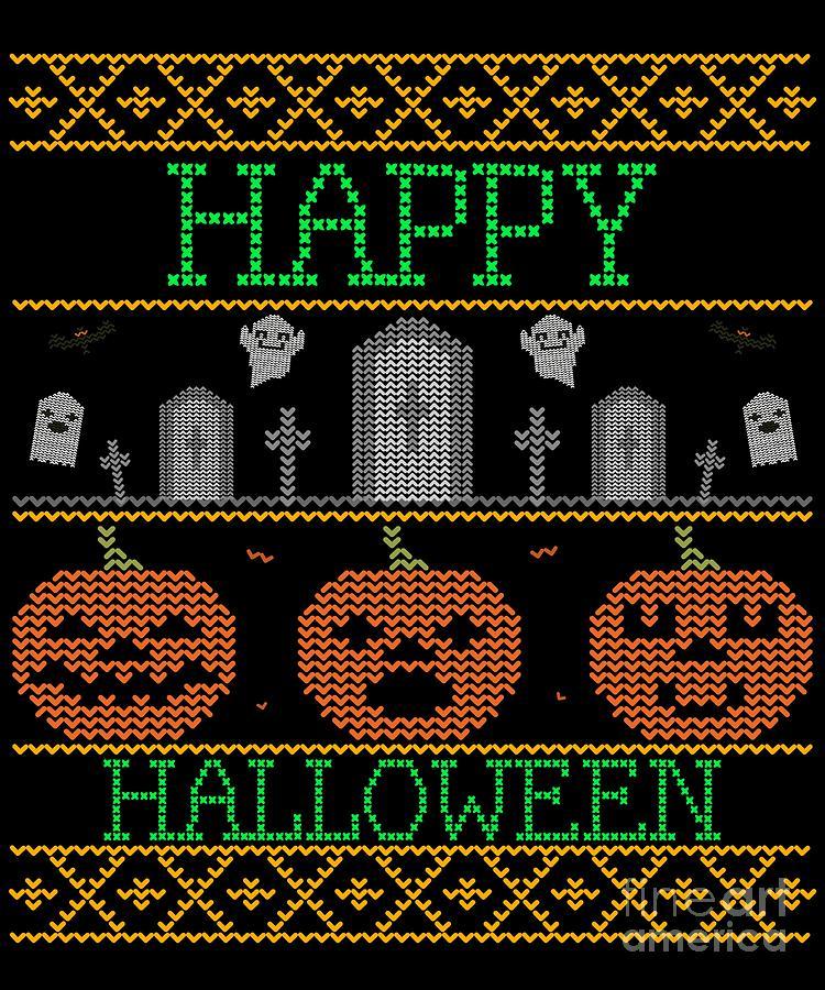 Ugly Halloween Sweater by Flippin Sweet Gear