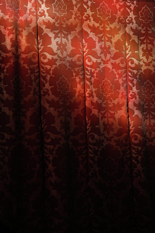 Uk, England, Oxford, Light On Red Fabric Photograph by Westend61