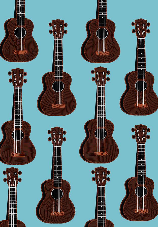 Ukulele Blues  by Cecely Bloom