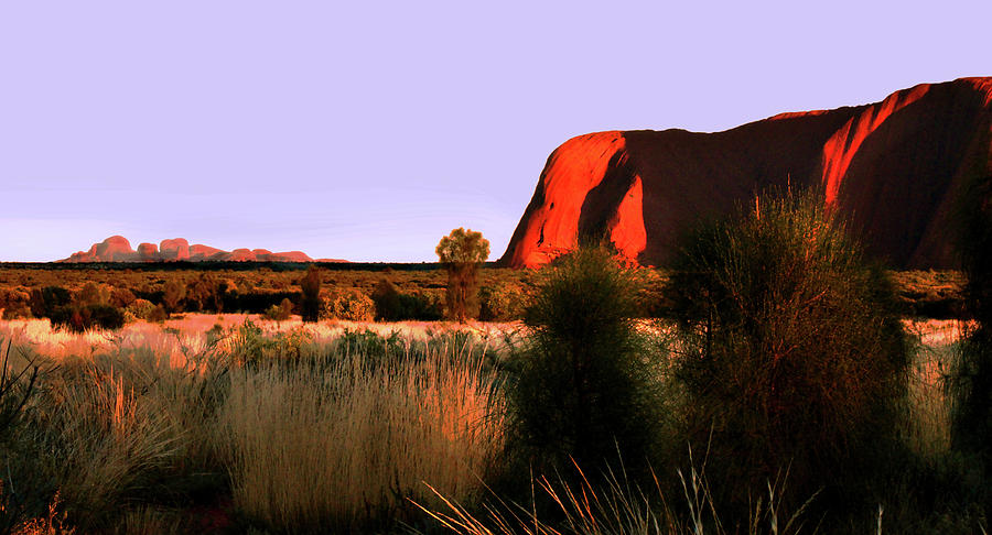 Uluru and Kata Tjuta Sunrise by Lexa Harpell