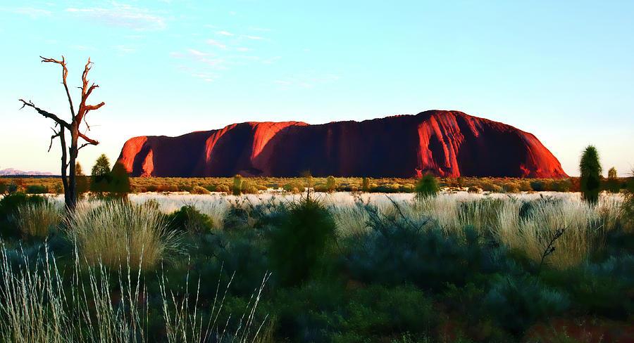 Uluru at Dawn by Lexa Harpell