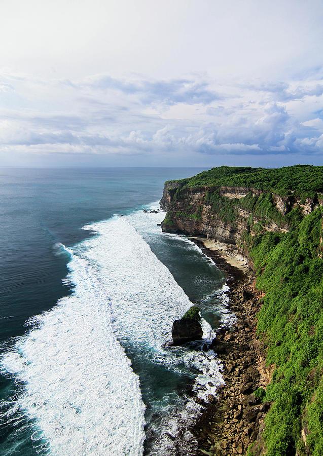 Uluwatu Temple Cliff, Bali Photograph by Photo By Elvera Venus Tandog