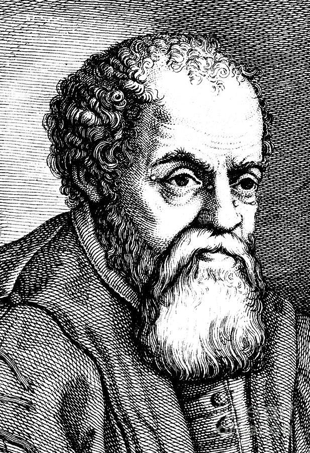 Ulysses Aldrovandi, 16th Century Drawing by Print Collector