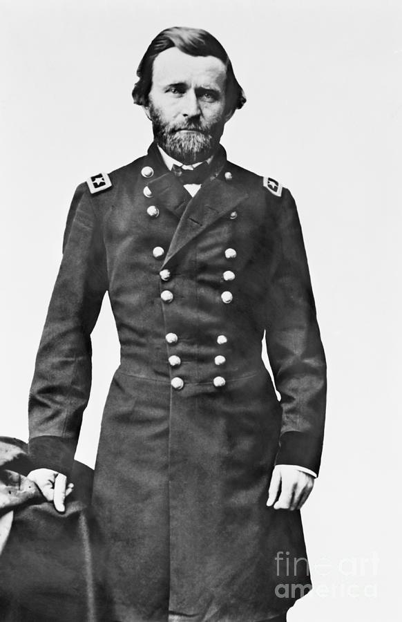 Ulysses S. Grant In Uniform Photograph by Bettmann